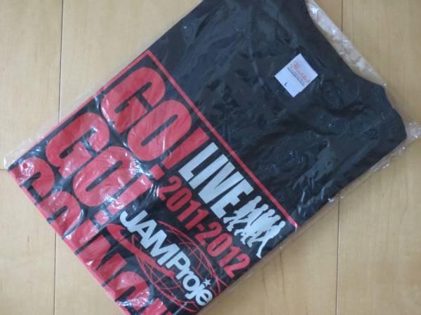 ⑧【激安!】新品★JAM Project Tシャツ 黒【L】GO! 定価3,000円 ライブ 記念 グッズ