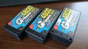 バッテリー G POWER Lipo 4600 80c+ 7.4v ×3 中古