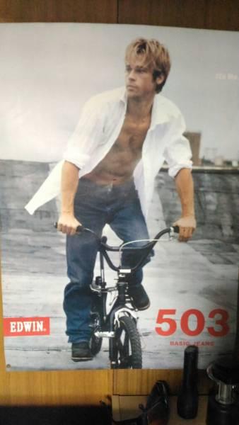 EDWIN 503 ブラッド・ピット ポスター