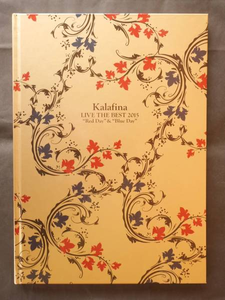 美品★Kalafina LIVE THE BEST 2015 Red Day & Blue Day パンフレット