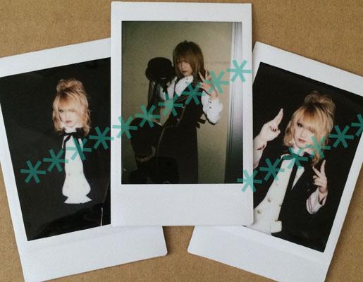 D(ディー)★Angelic Pretty着用 Ruizaチェキ★Tsunehito HIROKI ASAGI HIDE-ZOU
