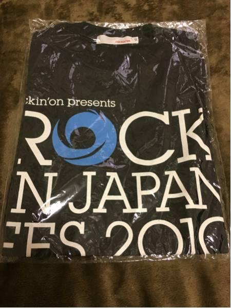 【新品未使用】ROCK IN JAPAN FES.2010 Tシャツ XSサイズ ロッキンジャパンフェス ライブグッズ ライブグッズの画像