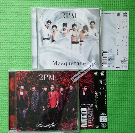 即決jun.Kウヨン2PM 「Beautiful」「マスカレード」CDジュノ:未再生