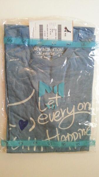 【新品】JYJ★NIIコラボTシャツ★ジェジュン着用モデル ライブグッズの画像