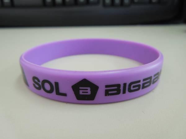 【 BIGBANG 】 シリコン リストバンド SOL
