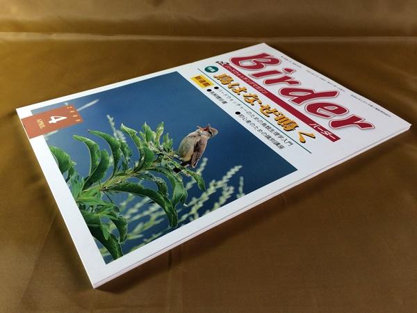 Birder (バーダー) 2000年4月■鳥が鳴く理由~楽しみ方/ 初心の識別講座~ヒタキ類/ ハトに親しむ方法■メダイチドリ/ トラツグミ/ スズメ_画像3