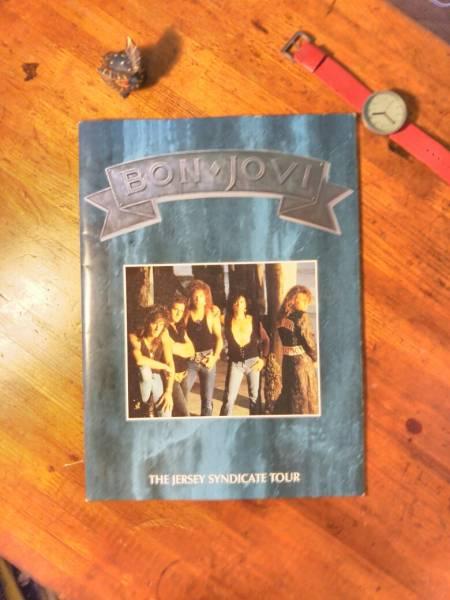 【送料無料・Bon Jovi】1989年のボン・ジョヴィ来日ツアーの公演パンフレット