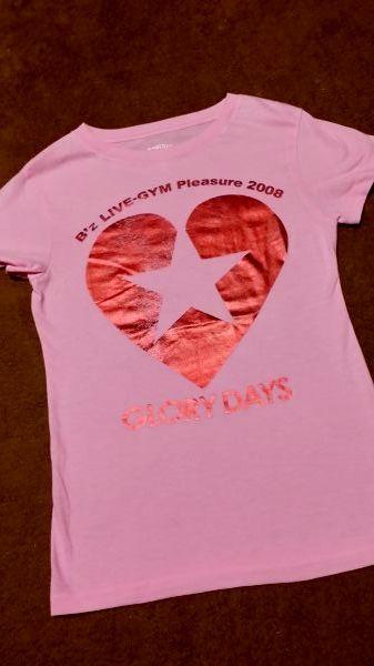 Bz LIVE-GYM2008 GLORY DAYS Tシャツ