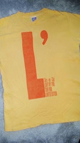 ラルクアンシエル 98年Tシャツ 当時モノ ラルク hyde