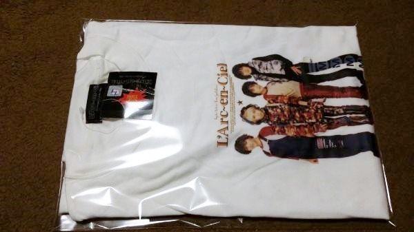 新品 ラルクアンシエル メンバープリントTシャツ 90年代 Mサイズ