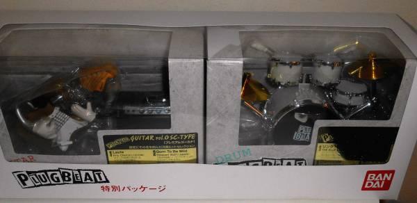 ★プラグビート PLUG BEAT ギター & ドラム バンダイ 箱入 非売品 未開封 超レア グッズの画像