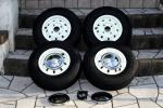 ミニ用 10インチ アルミホイール クーパーS4.5J+ ダンロップSP10 + ホイールキャップ + ナット