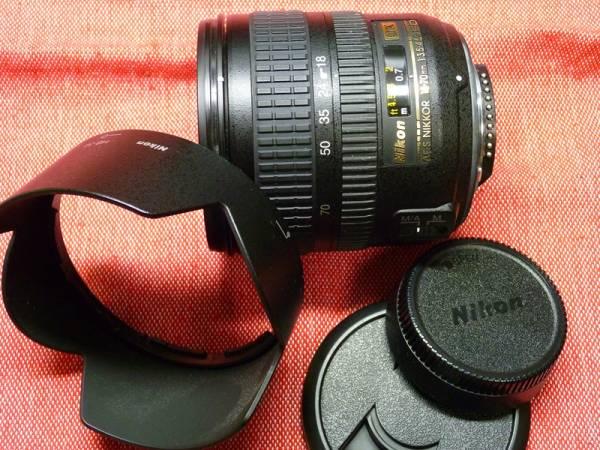 ♪AF-S DX Zoom-Nikkor 18-70mm f/3.5-4.5G IF-ED 中古良品♪