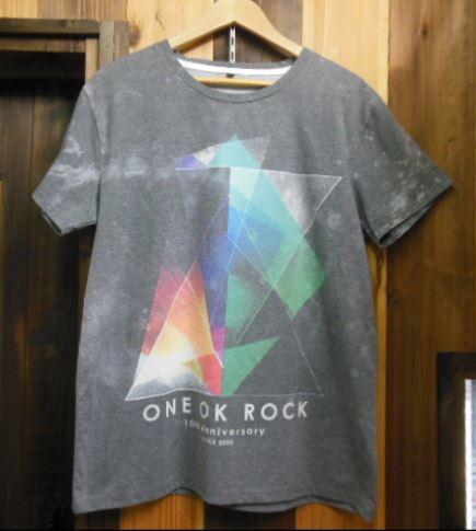 ONE OK ROCK 10th anniversary Tシャツ COLDRAIN SIM VAMPS 凛として時雨 SEKAI NO OWARI Dragon Ash