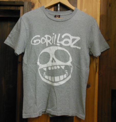 GORILLAZ Tシャツ BECK Flaming Lips Blur Radiohead BJORK Beastie Boys