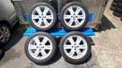 ヴィッツ RS 90系 美品 純正 ホイール+タイヤ 4本セット 全国送料無料 パッソ・スペイド・シエンタ・ポルテ等にも