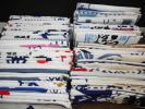 ④ 436【昭和レトロ】 日本 手ぬぐい まとめて80枚 企業物 ノベルティー 広告 宣伝 看板 布 手拭い