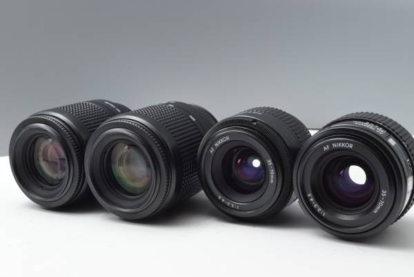 Nikon用レンズ4本 ニコン T26