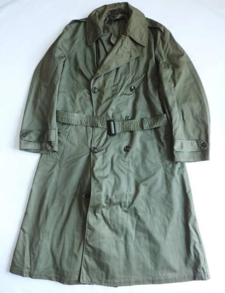 40's (1946年) 米軍実物 トレンチコート Pated june 28, 1946  ヴィンテージ ビンテージ ミリタリー