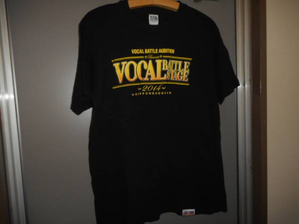 VBA 2014 VOCAL BATTLE STAGEボーカルバトルステージTシャツ黒ブラックLexile三代目jsoulbrothersjsbrampage