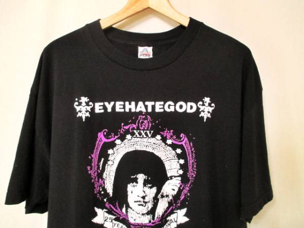 XLサイズ 良品 EYEHATEGOD メタル バンド Tシャツ アイへエイトゴッド