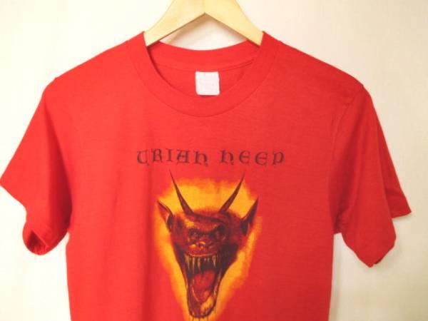 激レア 80s ビンテージ URIAH HEEP ユーライアヒープ バンドTシャツ King Crimson YES COLOSSEUM CATHEDRAL ELP