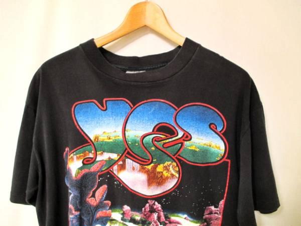 USA製 90s YES ツアー バンドTシャツ King Crimson Jethro Tull ELP COLOSSEUM Uriah Heep Rush