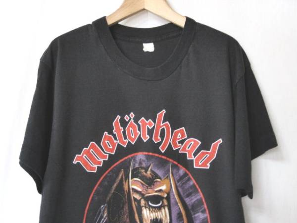激レア USA製 80s ビンテージ Motorhead バンドTシャツ BLACK SABBATH IRON MAIDEN Judas Priest METALLICA MEGADETH SLAYER