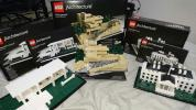 LEGO アーキテクチャー 21005 21006 21009 3点セット