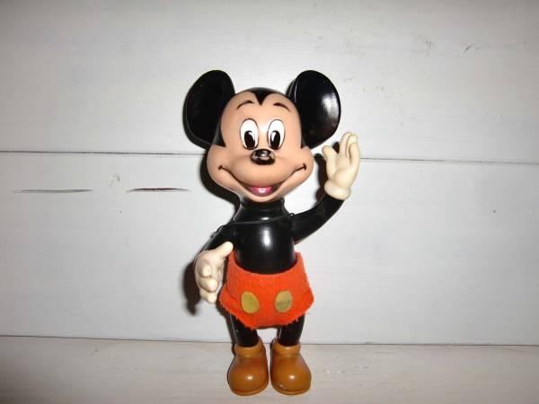 ANTIQUE日本製Disneyディズニー*mickeyミッキーマウス*ソフビドール*WALT DISNEY PRODUCTION/Made in JAPAN ディズニーグッズの画像
