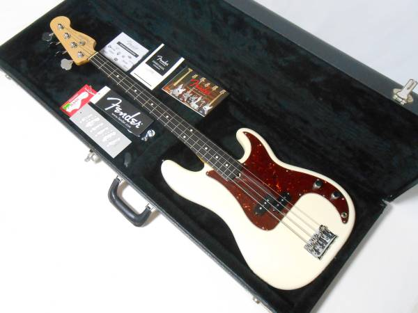 ★2012年製 美品! Fender USA American Standard PB Upgrade Custom Shop製PU搭載! 即決!