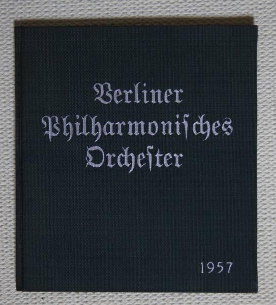 カラヤン指揮ベルリン・フィルハーモニー管弦楽団【1957年・昭和32年】日本公演プログラム