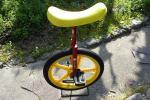 一輪車(18インチ:赤色:中古)