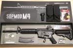 【中古美品】東京マルイ SOPMOD M4 SBD組込済み+充電器他付き