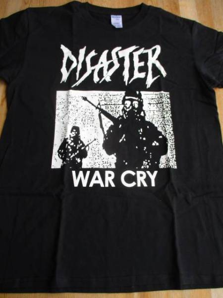 DISASTER Tシャツ 黒M / discharge doom anticimex mob47 disclose