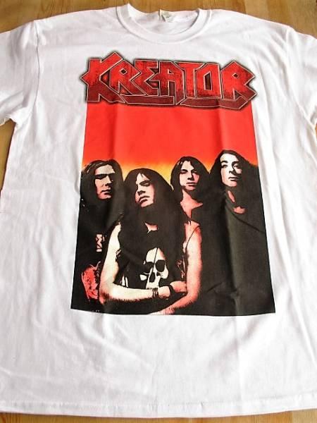 KREATOR Tシャツ extreme aggression 白L / slayer metallica sodom destruction venom