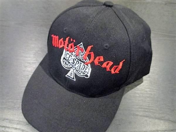 MOTORHEAD 刺繍 キャップ 黒 cap / slayer black sabbath metallica iron maiden