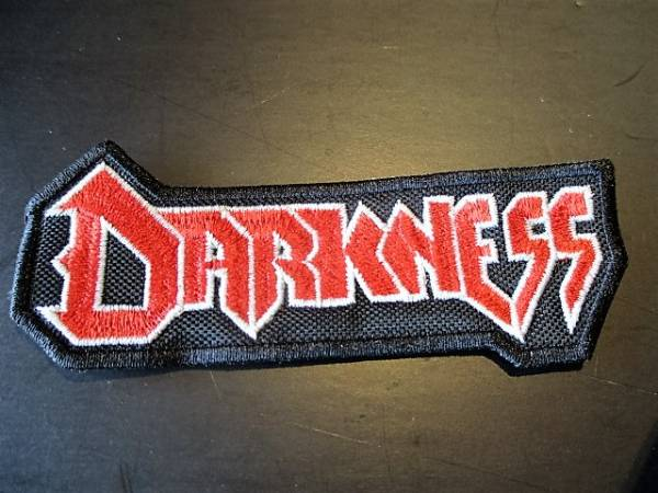 DARKNESS 刺繍パッチ ワッペン / slayer sodom kreator destruction protector