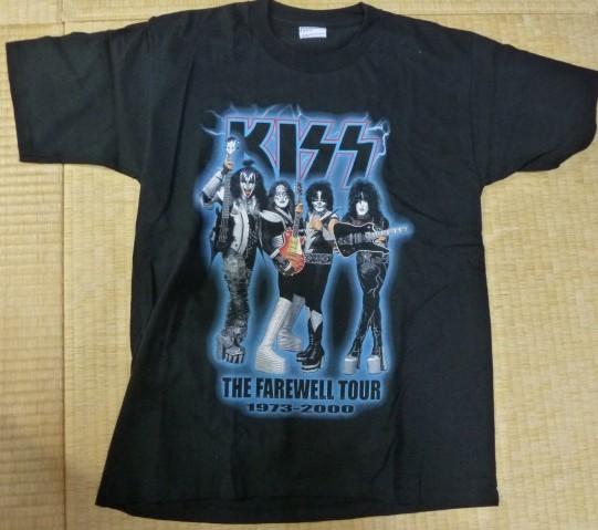 world tour 2000 KISS The farewell T-shirt キッス Tシャツ U.S.A.Lサイズ 新品同様 美品 ライブグッズの画像