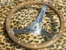 シューペリア ウッドステアリング KUSTOM グラント エルカミーノ アストロ サバーバン 旧車 カマロ ホットロッド 当時物 ムーンアイズ
