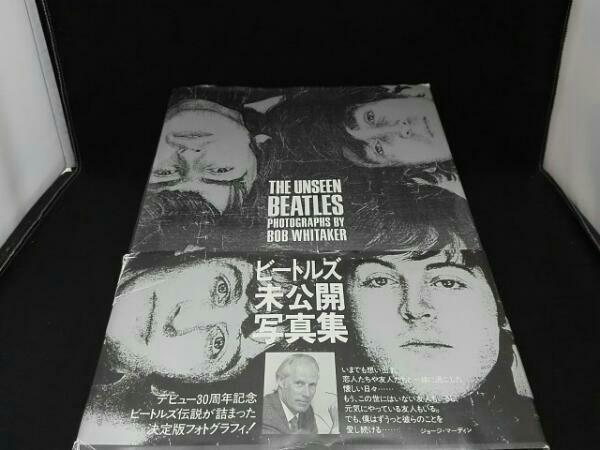 BEATLES ビートルズ未公開写真集 ライブグッズの画像