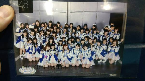 HKT48 春の関東ツアー 埼玉 SSA 4/1 昼公演 集合写真 L版 指原莉乃 宮脇咲良  ライブグッズの画像
