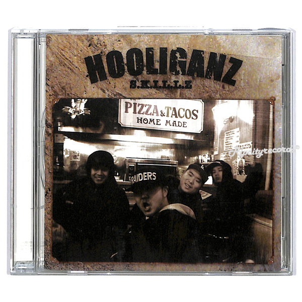【CD/邦②】HOOLIGANZ /S.K.I.L.L.Z. ~Haiiro De Rossi Takuma The Great 万寿 Ban Match_画像1