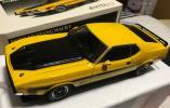 オートアート 1/18 Ford Mustang Mach 1 フォード マスタング マッハ Ⅰ イエロー 難あり