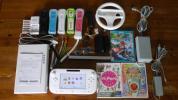 1円〜!Wii U本体/マリオカート8/スーパーマリオメーカー/リモコン5個など。すぐ遊べるセット!