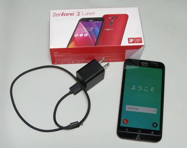 ★zenfone2 laser ZE500KL-RD16 simフリー レッド_画像3