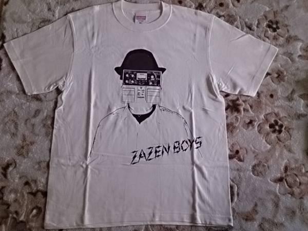 zazen boys ザゼン ボーイズ ディレイマンTシャツ クリーム M 新品