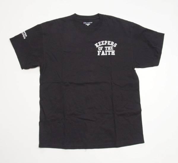 TERROR「KEEPERS OF THE FAITH」Tシャツ 黒 L テラー キーパーズオブザフェイス バンドT