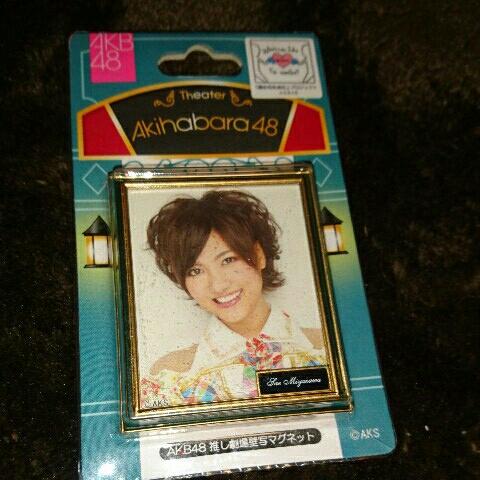 【未開封】AKB48 宮澤佐江 推し劇場壁写マグネット ライブ・総選挙グッズの画像