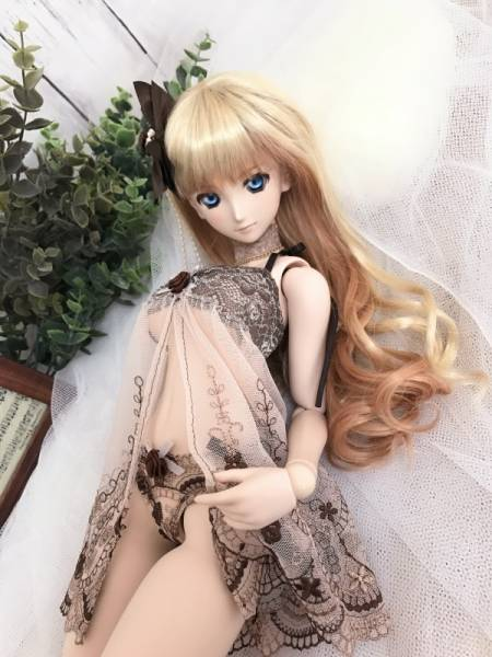 DD☆ドルフィードリーム☆Lingerie of the brown rose_画像3